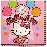 Салфетка Hello Kitty 33см 16шт А фото