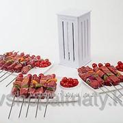 Приспособление для быстрого нанизывания шашлыка brochette express фото