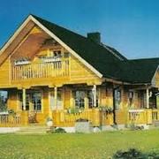 Дома деревянные финские, Дома из оцилиндрованного бревна, купить заказать , Цены разумные. фото