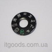 Накладка на колесо выбора режимов для фотоаппарата Canon EOS 6D (с двухсторонним скотчем) фото