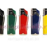 Турбо зажигалка с фонариком Astreb 888 color фото