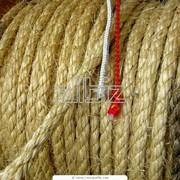 Веревки джутовые фото