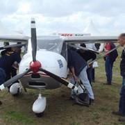 Участие в выставках: Самолет винтовой сверхлегкий К-10 SWIFT, мод. K-10 (01, 02) фото