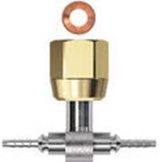 Фитинг тройник Т-типа к гибкой капиллярной трубке DN2 Gomax XPB0C2 фото