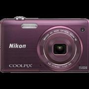 Фотоаппарат Nikon Coolpix S5200 фиолетовый фото