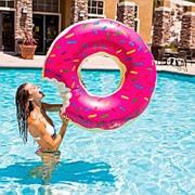 Надувной круг пончик D=90см фото