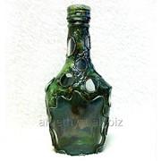 Декоративные бутылки 0.25 л Рыбак для подарка или интерьера фото
