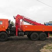 КМУ с вращателем Horiong 216 на базе КАМАЗ-43118 фото