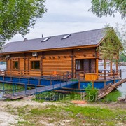 Дом на воде, плавучий дом фото
