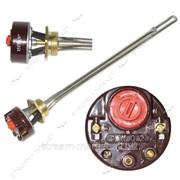 ТЭН нерж SNL бат.0, 5л - 0, 5кВт с терморег-ром, L-300мм, для аллюм батарей, резьба лат. 1 левая №731059 фото