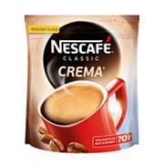 Кофе NESCAFE Classic Crema растворимый, 70г фото