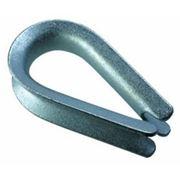Коуш для стальных канатов DIN 6899 ГОСТ 2224 6мм. фото