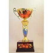 Кубок наградный расписной фото