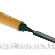 Стамеска-долото Зубр Эксперт с деревянной ручкой, хромованадиевая, 25мм Код: 18096-25 фото