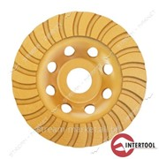 Фреза торцевая шлифовальная алмазная Intertool CT-6225 Turbo 125 * 22.2мм №446325 фото