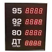 Электронные табло азс 602-5x1-DTx1-R или -G фото