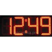 Светодиодное табло Часы фото