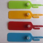 Пломба индикаторная пластиковая одноразовая 22 см фото