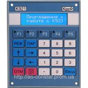 Панель ввода и отображения технологической информации К921 фото