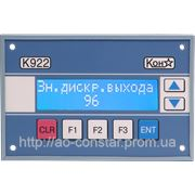 Панель ввода и отображения технологической информации К922 фото