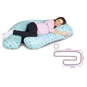 Антистрессовая подушка для беременных Г-образная фото