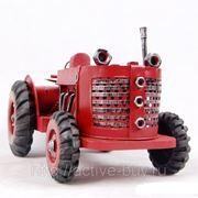 Классическая железная модель сельскохозяйственный трактор фото