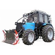трактор трелевочный мтз беларус ТТР401М на базе трактора мтз беларус 82.2 фото