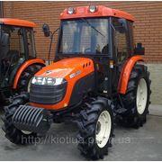 Коммунальный трактор KIOTI DK551C с кабиной, с кондиционером, с отопителем, с СD-радио-MP3-AUX магнитолой фото