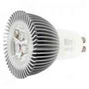 Лед лампа GU10-3W фото