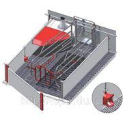 Станок для опороса - родильное отделение для свиноматки и поросят сосунов