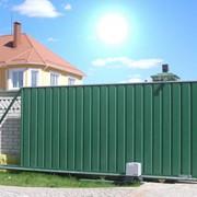 Ворота автоматические откатные фото