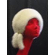 """""""Юля"""" - мягкая шляпка из норки округлой формы фото"""