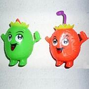 Игрушка Ананас резиновый пищалка фото