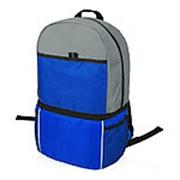 Рюкзак-холодильник Sea Isle, ярко-синий/серый фото