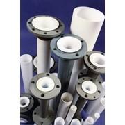 Трубы (втулки) из фторопласта-4, фторопласта-4А, изготавливаемые методом экструзии. ТУ 6-051876-79 фото