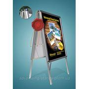 Штендер с клик системой с защитным экраном, Штендер 60x80, штендер - мимоход фото