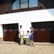 Ворота гаражные секционные Yett 01, Секчионные гаражные ворота Yett 01 фото