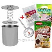 Ветчинница ВIOWIN+ в подарок термометр+набор пакетов+ специи на 3 кг мяса фото