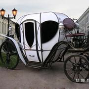 Свадебная карета модель 2 фото