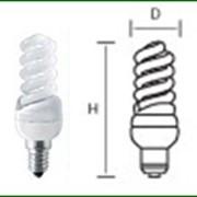 Лампы энергосберегающие, СП2 111427, Цветовая температура 2700К фото