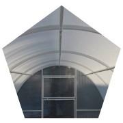 Основа, сверхпрочная теплица труба 25*25 (Длина - 8м, ширина - 3м) фото