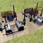 Мини завод для переработки шин фото