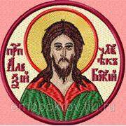 Икона Алексия человека Божия - дизайн для машинной вышивки фото
