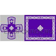 Церковная вышивка. Воздух-покровцы 13 (литургический набор) -дизайн для машинной вышивки фото