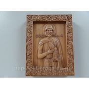 Икона резная- Святой Князь Олег фото