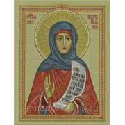 Икона Святой ВМЧ Анастасия - дизайн для машинной вышивки фото