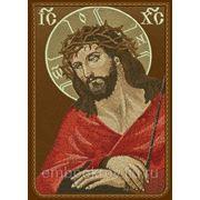 Икона Иисус Христос - дизайн для машинной вышивки фото