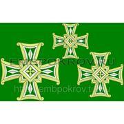 Набор крестов 22 -дизайн для машинной вышивки фото
