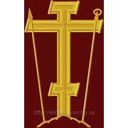 Крест 23 Голгофа -дизайн для машинной вышивки фото
