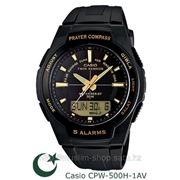 Мусульманские часы Casio Men's CPW-500H-1A фото